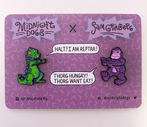 Reptar vs Thorg - Midnight Dogs