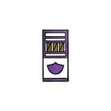 Blunts (Grape) - Enamel Pin - Midnight Dogs