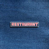 Restaurant - Enamel Pin - Midnight Dogs