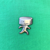 Stinky Cheese Man - Enamel Pin - Midnight Dogs