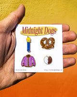 Seinfeld Mini Set - Enamel Pins - Midnight Dogs