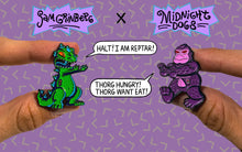 Load image into Gallery viewer, Reptar vs Thorg - Midnight Dogs