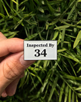 Inspector 34 - Enamel Pin - Midnight Dogs