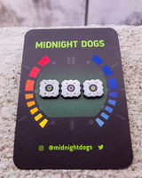 Goldeneye 64 Mines - Enamel Pin - Midnight Dogs