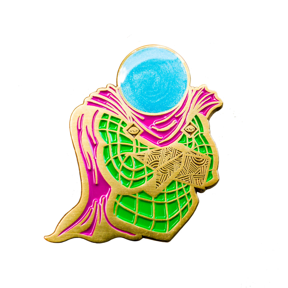 Mysterio - Enamel Pin - Midnight Dogs