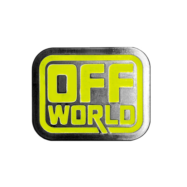 Off World - Enamel Pin - Midnight Dogs