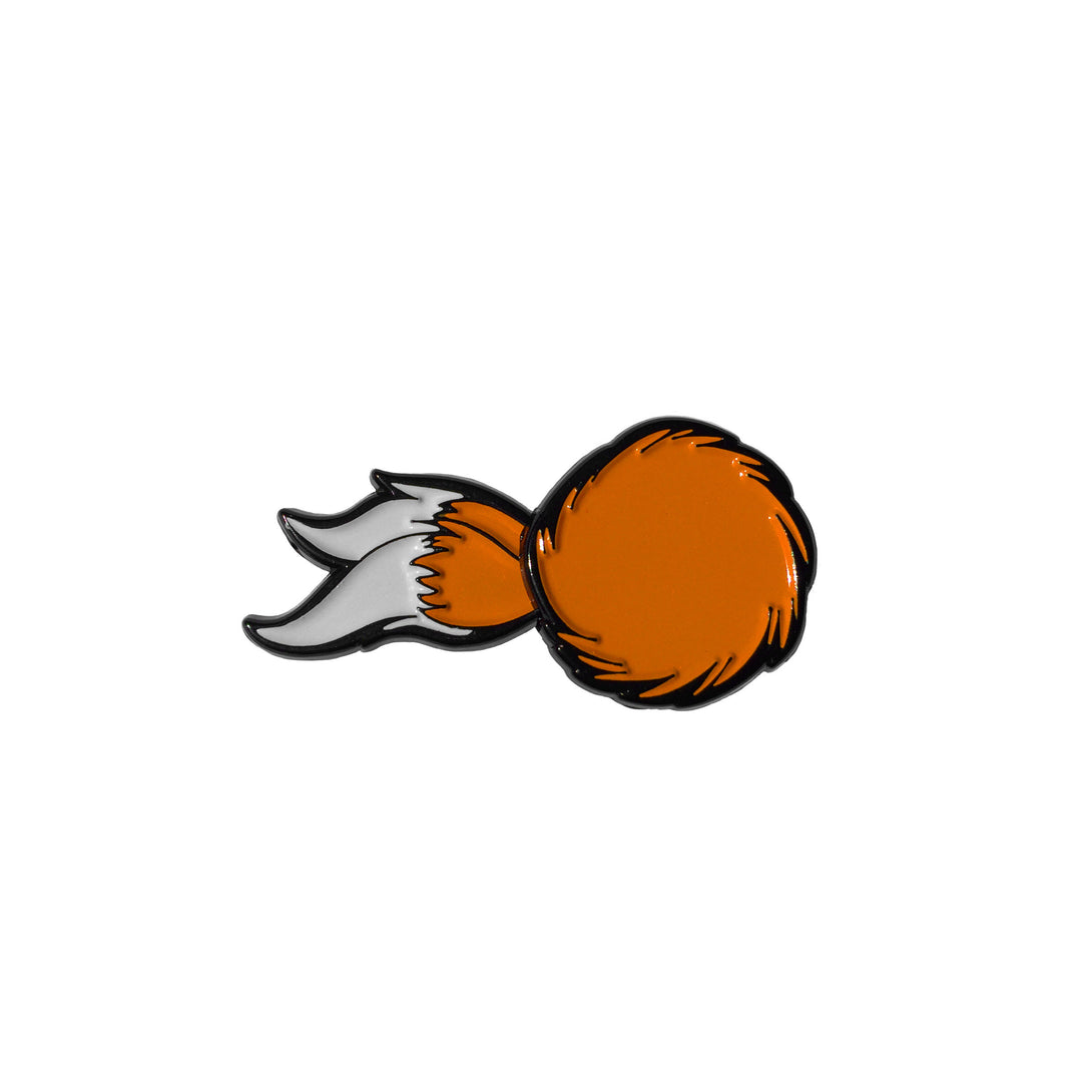 Tails - Enamel Pin - Midnight Dogs