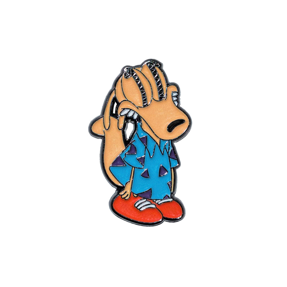 Rocko - Enamel Pin - Midnight Dogs