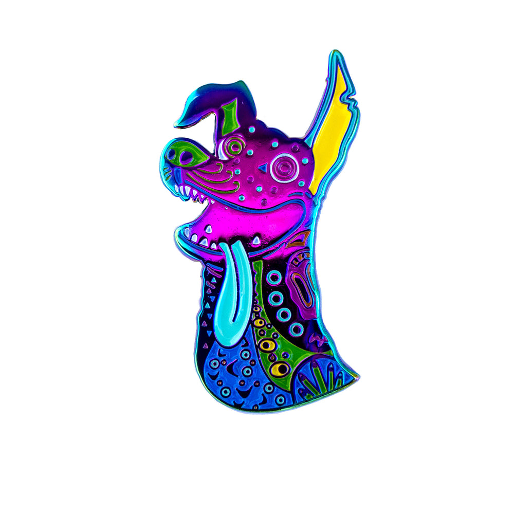 Dante - Enamel Pin - Midnight Dogs