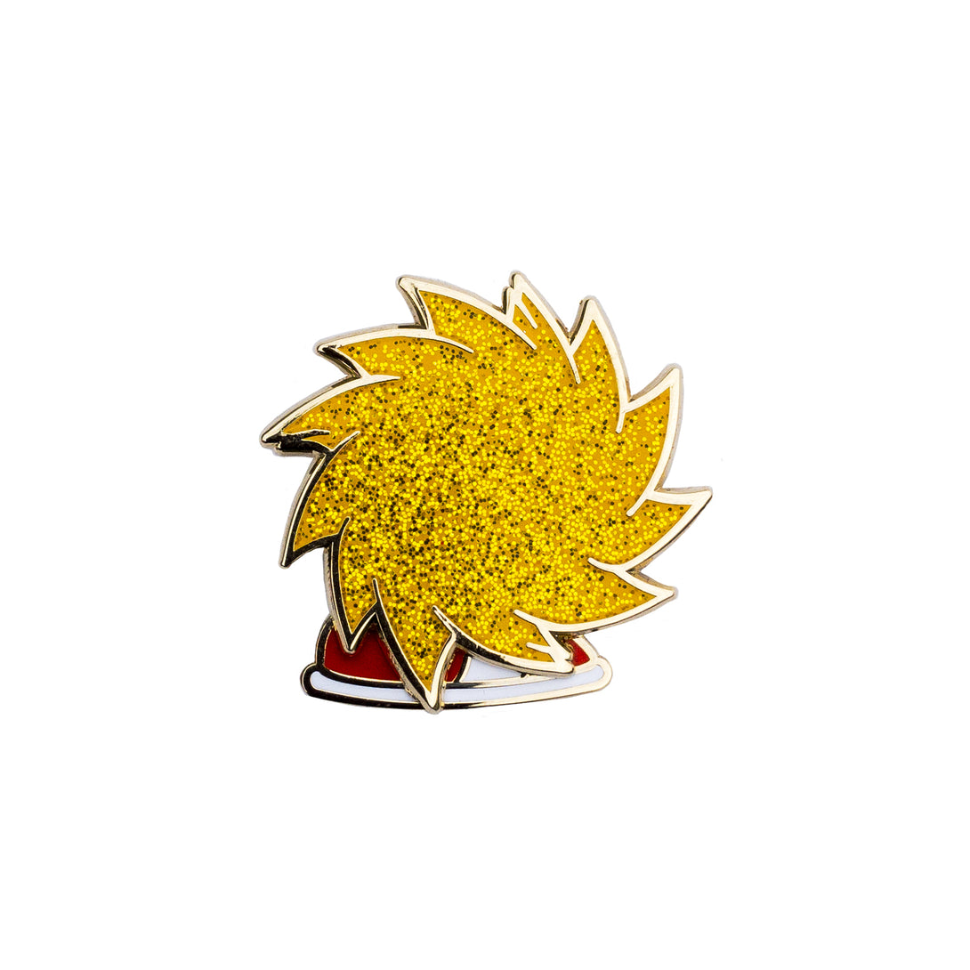 Super Sonic - Enamel Pin - Midnight Dogs