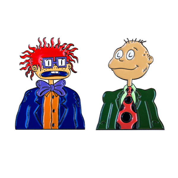 Big People Tommy & Chuckie - Enamel Pins - Midnight Dogs