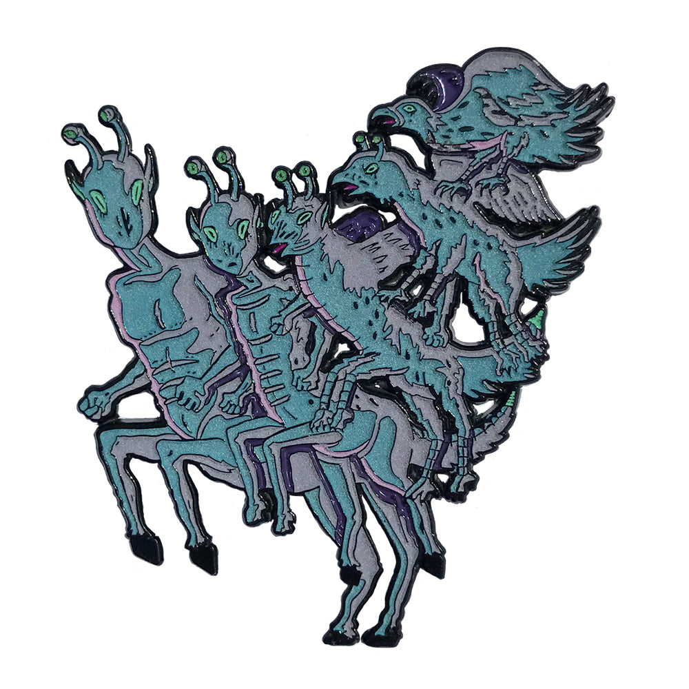 Animorphs - Enamel Pin - Midnight Dogs