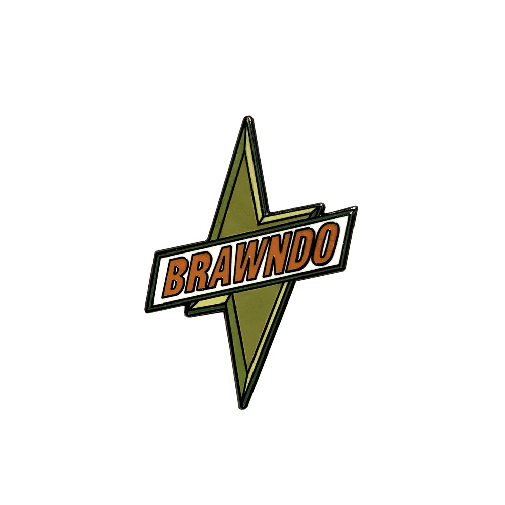 Brawndo - Enamel Pin - Midnight Dogs