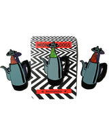 Twin Peaks - Enamel Pin - Midnight Dogs