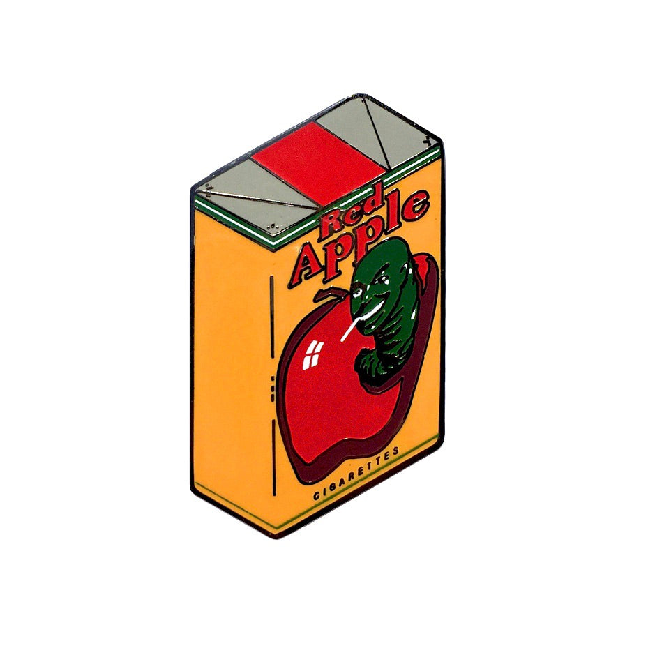 Red Apple Cigarettes - Enamel Pin - Midnight Dogs