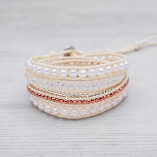 Glee Spring Wedding Wrap Bracelet