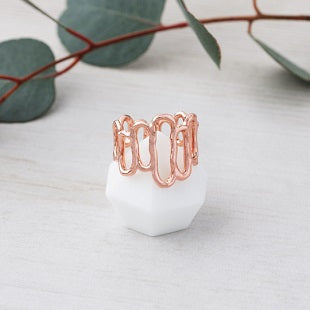 Glee Array Ring Rose Gold