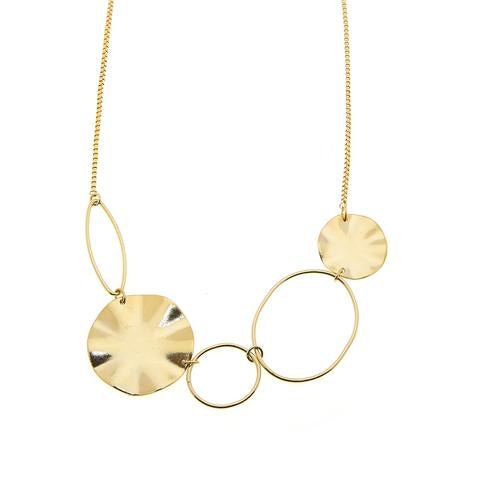 Foxy Tallulah Necklace in Gold