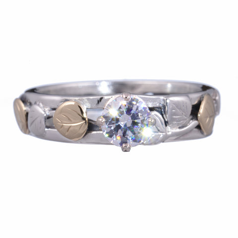 Open Aspen Engagement Ring