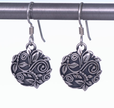 Victorian Concho Drop Earrings