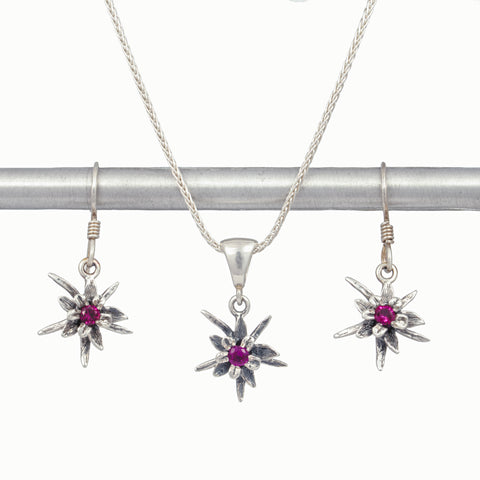 Columbine Birthstone Set