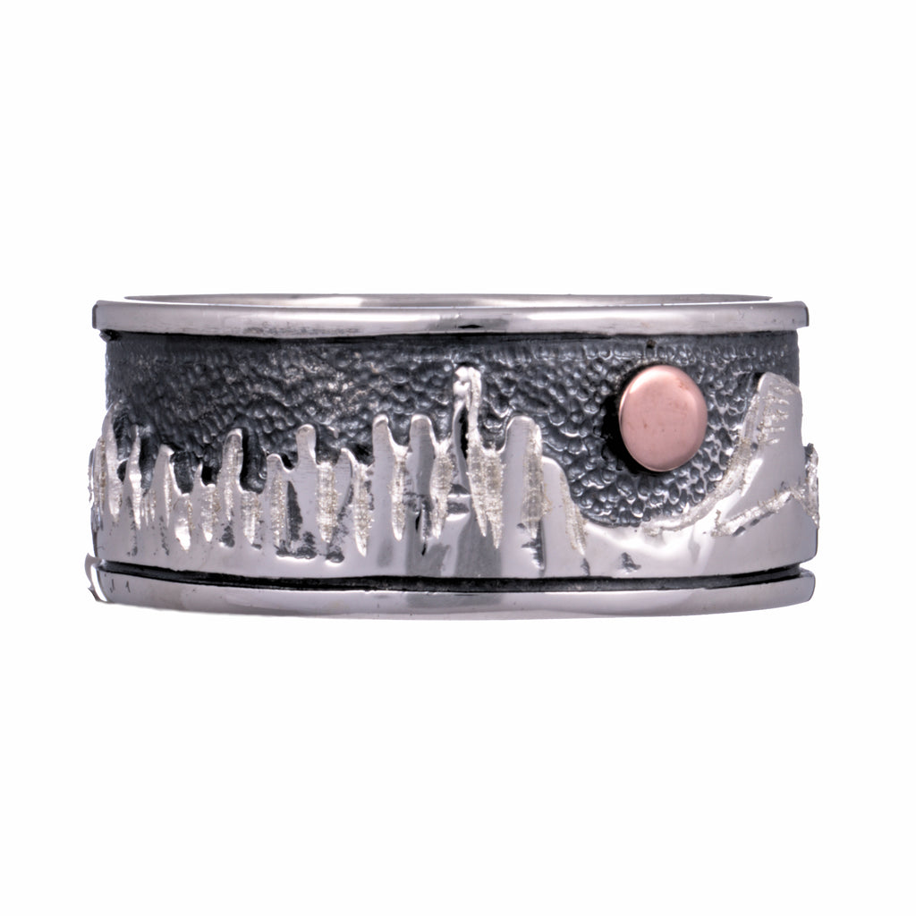 mountain collection cimarron ring sterling silver