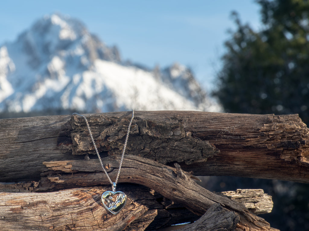 Mountain Heart Pendant