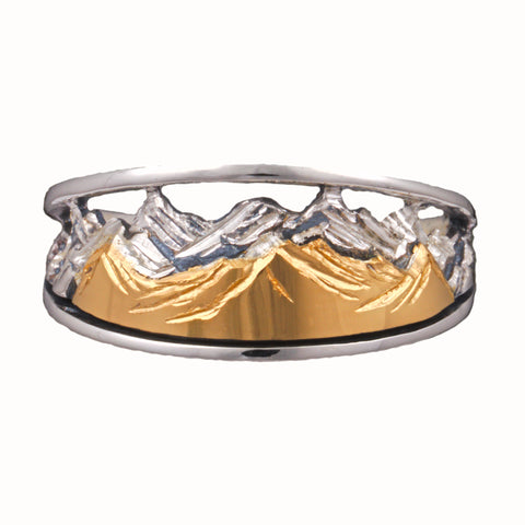 Tapered Mountain Ring