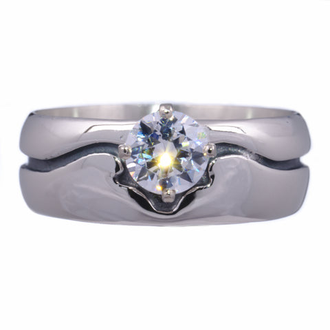 Men's Western Ring with Birthstone