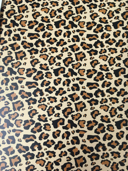 Leopard HTV Sheet