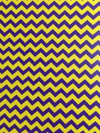 Purple/Gold Chevron HTV Sheet