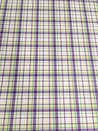 Mardi Gras Plaid Vinyl