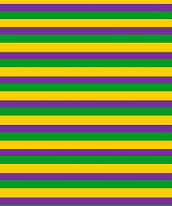 Mardi Gras Stripes HTV Sheet