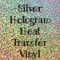 Silver Hologram HTV Sheet