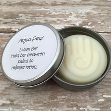 Anjou Pear Lotion Bar | Solid Lotion Bar in a Tin