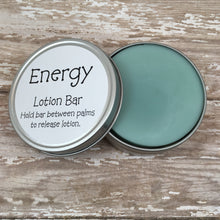 Lotion Bar in Tin Energy Scent