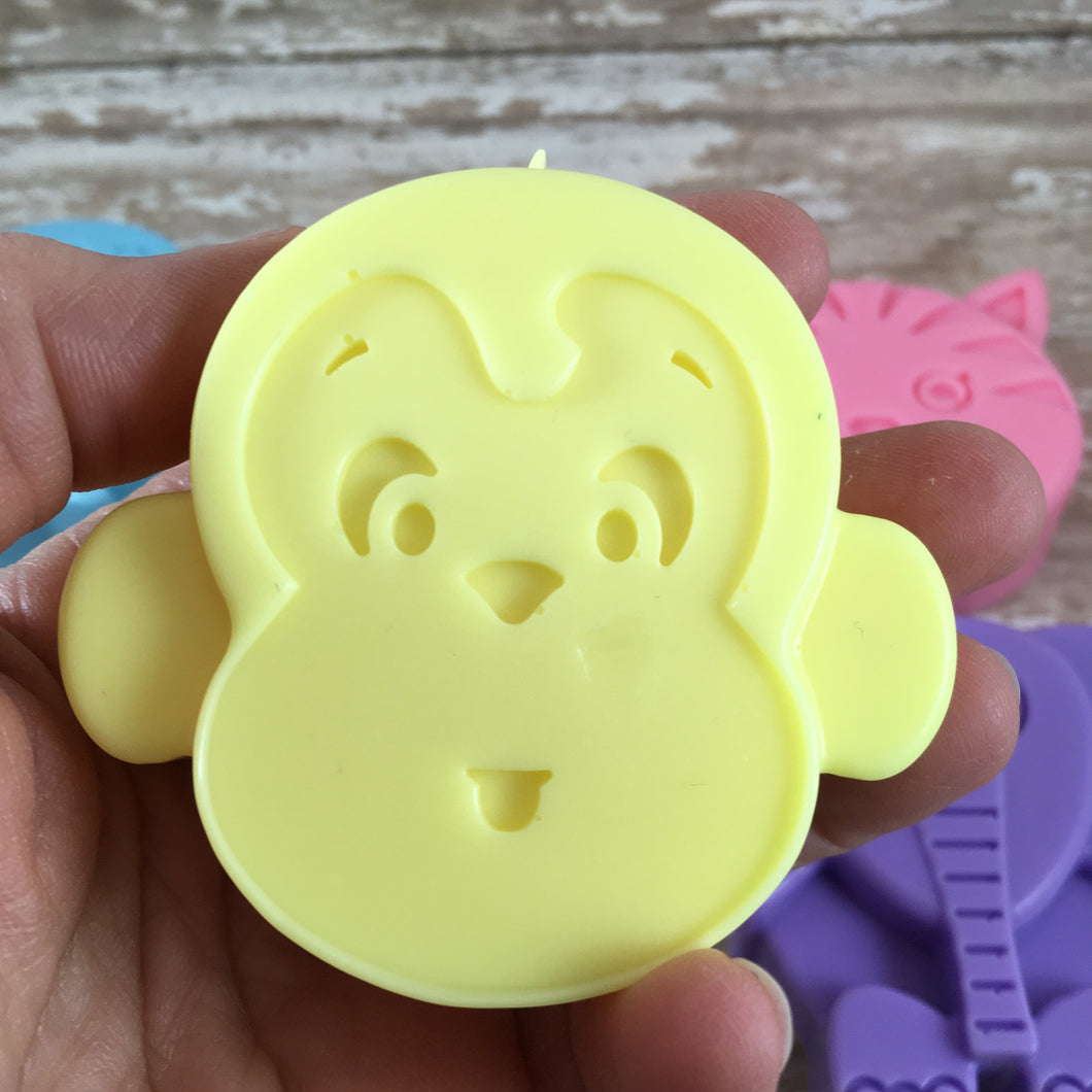 Monkey Shaped Soap For Kids | Mild Soap For Kids and Babies | Goat's Milk Soap
