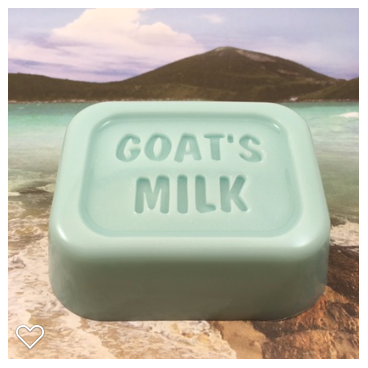Goat's Milk Soap Cool Mountain Lake Scented Soap Blue Soap Mild Soap Handmade Soap Bar Soap Gift for Her Gift for Him