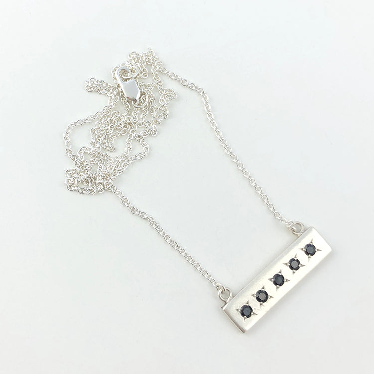 Astrum silver necklace