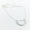 Grace silver necklace