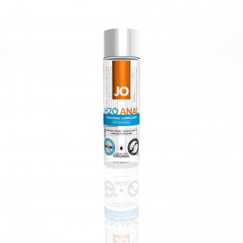 Anal Lubricants- Jo H2O Anal Water Based Lubricant 8 Ounce by System Jo- Clear  X  in.  Made in USA