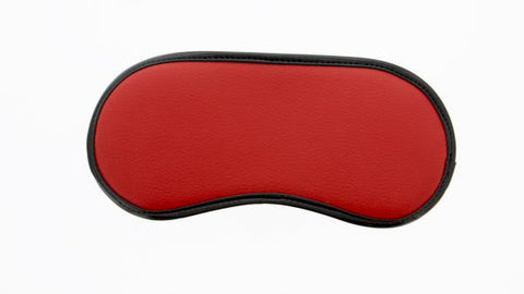 Guilty Pleasure Two Toned Blindfold and Tickler Red
