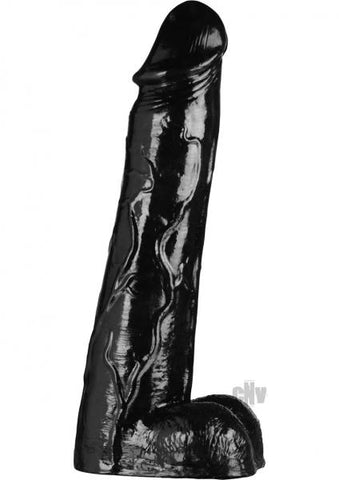 Moby Huge 3 Ft Super Dildo Black