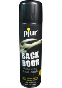 Back Door Relaxing Anal Glide Silicone Lubricant 8.5 Ounce