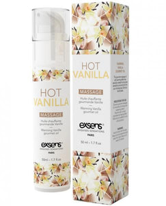 Exsens Of Paris Massage Oil Hot Vanilla 1.7oz