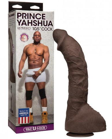 Prince Yahshua Ultraskyn 10.5 inches Cock Chocolate