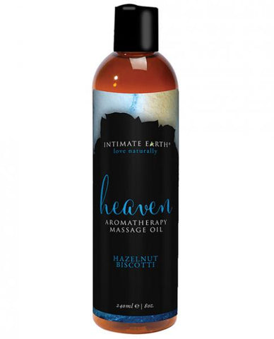 Intimate Earth Heaven Hazelnut Biscotti Massage Oil 8oz