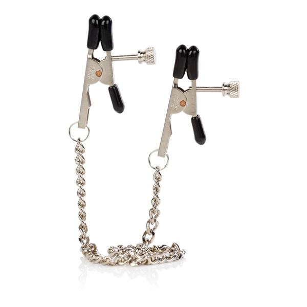 Nipple Play Bull Nose Clamps Chrome
