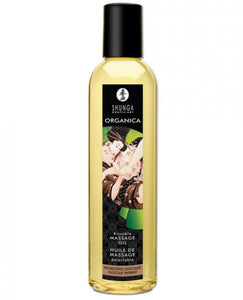Shunga Organica Kissable Massage Oil Intoxicating Chocolate 8oz