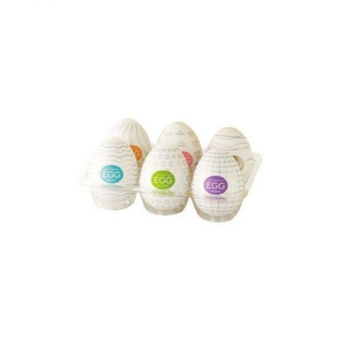 Tenga Eggs Variety Pack 6 Male Masturbators